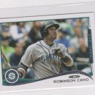 Robisnon Cano Trading Card 2014 Topps Mini Exclusives #500 Mariners