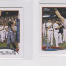 Todd Helton CL Trading Card Lot of (2) 2014 Topps Mini Exclusives #253 Rockies