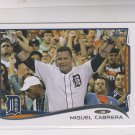 Miguel Cabrera Trading Card Single 2014 Topps Mini Exclusives #250 Tigers