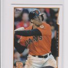 Hunter Pence Trading Card Single 2014 Topps Mini Exclusives #412 Giants