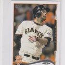 Brandon Belt Trading Card Single 2014 Topps Mini Exclusives #284 Giants