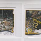 Andrew McCutchen Trading Card Lot of (2) 2014 Topps Mini Exclusives #452 Pirates