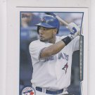 Melky Cabrera Trading Card Single 2014 Topps Mini Exclusives 99 Blue Jays