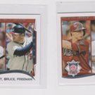 Goldschmidt Bruce Freeman  LL Lot (2) 2014 Topps Mini Exclusives 143
