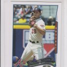 Andrelton Simmons Future Star Trading Card 2014 Topps Mini Exclusives 283 Braves