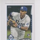 Tim Beckham RC Trading Card 2014 Topps Mini Exclusives #605 Rays