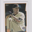 Heath Hembree RC Trading Card 2014 Topps Mini Exclusives #249 Giants
