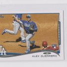 Alex Guerrero RC Trading Card 2014 Topps Mini Exclusives #643 Dodgers