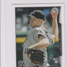 Erik Johnson RC Trading Card Single 2014 Topps Mini Exclusives #179 White Sox