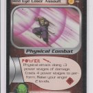 Red Eye Laser Assault Uncommon rading Card Dragonball Z 2001 Score #78 *ROB