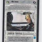 Wes Janson Trading Card Decipher Star Wars Hoth LTD BB RARE *ROB