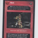 Monnok Used or Lost Interrupt Star Wars Decipher SWCCG A New Hope Unplayed *ROB