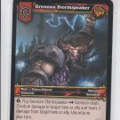 Grennan Stormspeaker Wold of Warcraft Trading Card 10/361 Played WoW *ROB