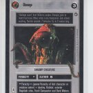 Dionaga Swamp Creature Star Wars Decipher SWCCG A New Hope Limited Unplayed *ROB