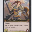 Blood Knight Kyria Wold of Warcraft Trading Card 147/361 unplayed WoW *ROB