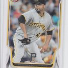 Francisco Liriano Trading Card Single 2014 Bowman #46 Pirates