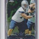 Zack Martin Trading Card Single RC 2014 Topps Chrome #207 Cowboys