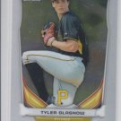 Tyler Glasnow Top Prospect 2014  Bowman Chrome Draft CTP61 Pirates