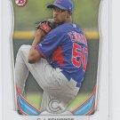 C.J. Edwards Top Prospect Trading Card 2014 Bowman Draft #TP72 Cubs