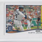 Austin Jackson Trading Card Single 2014 Topps Mini #372 Tigers