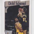 Detlef Schrempf Trading Card Single 1991-92 Hoops #470 Pacers SC