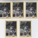 Ervin Johnson RC Trading Card Lot of (5) 1993 Classic #46