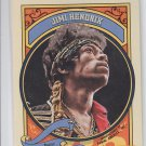 Jimi Hendrix Baseball Trading Card 2014 Panini Golden Age #105
