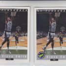 Steve Smith Flashback Trading Card Lot of (2) 1992-93 Classic #96