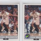 Lee Mayberry RC Trading Card Lot of (2) 1992-93 Classic #3