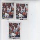 Alonzo Jamison Trading Card Lot of (3) 1992-93 Classic #39