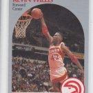 Kevin Willis Trading Card Single 1990-91 Hoops #37  Hawks