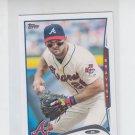 Dan Uggla Trading Card Single 2014 Topps Mini #365 Braves
