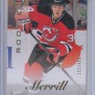 John Merrill Ultra Rookie Card SP 2013-14 UD Fleer Showcase #50 Devils 151/499