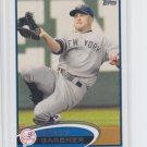 Brett Gardner Baseball Trading Card Single 2012 Topps Series 2 #635 Yankees
