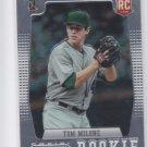 Tom Milone RC Baseball Trading Card 2012 Panini Prizm #163 Athletics