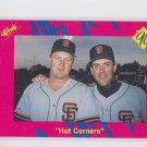 Matt Williams Will Clark Hot Corners 1990 Classic Update #T11 Giants