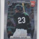 Michael Taylor RC Baseball Trading Card 2012 Panini Prizm #189 Athletics