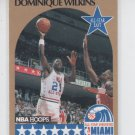 Dominique Wilkins SP Trading Card Single 1990-91 Hoops #12 Hawks ASG NMMT
