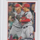 Buddy Boshers RC Trading Card Single 2014 Topps Mini #34 Angels