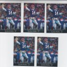 Frank Reich Football Trading Card Lot of (5) 1995 Upper Deck #297 Panthers NMMT