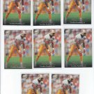 Willie Green Football Trading Card Lot of (8) 1995 Upper Deck #296 Panthers NMMT