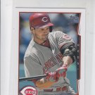 Chris Heisey Trading Card Single 2014 Topps Mini #23 Reds