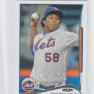 Jenrry Mejia Trading Card Single 2014 Topps Mini #591 Mets