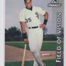 Frank Thomas Field of Vision 1997 Pinnacle #186 White Sox *BILL