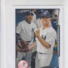 Brett Gardner Trading Card Single 2014 Topps Mini #254 Yankees