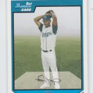 Tony Peguero 1st Prospect 2007 Bowman Draft Picks #BDP72 Rays
