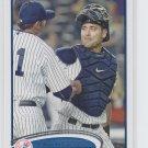 Francisco Cervelli Baseball Trading Card Single 2012 Topps Series 2 #646 Yankees