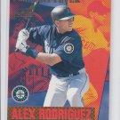 Alex Rodriguez Pennant Fever Insert 1999 Aurora #18 Yankees Mariners *BILL