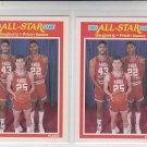 Daugherty Price Nance All Star Game Lot of (2) 1989-90  Fleer #166  NMMT