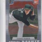Jarrod Parker RC Baseball Trading Card 2012 Panini Prizm #154 Athletics